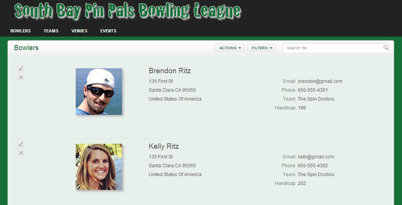 Show Bowlers Page